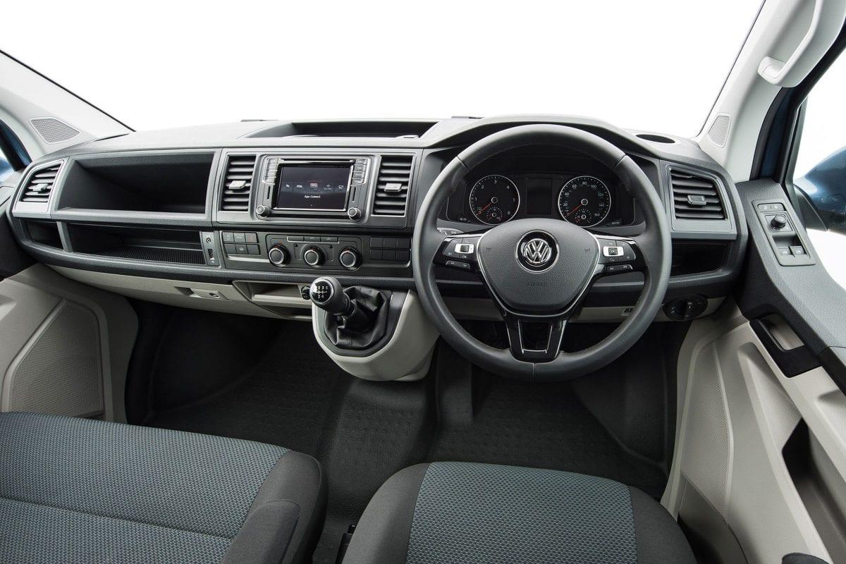 VW Transporter Driver Interior