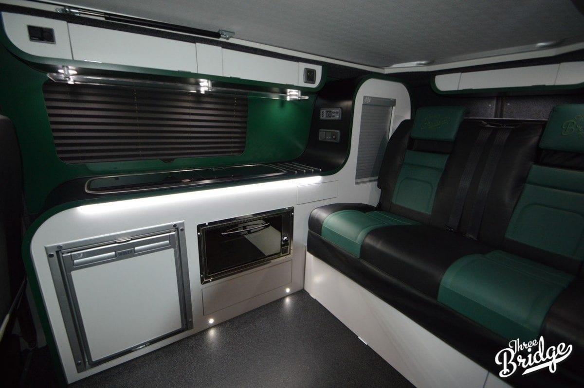 VW Transporter T5 T6 Camper Conversion - SWB Infinity Interior