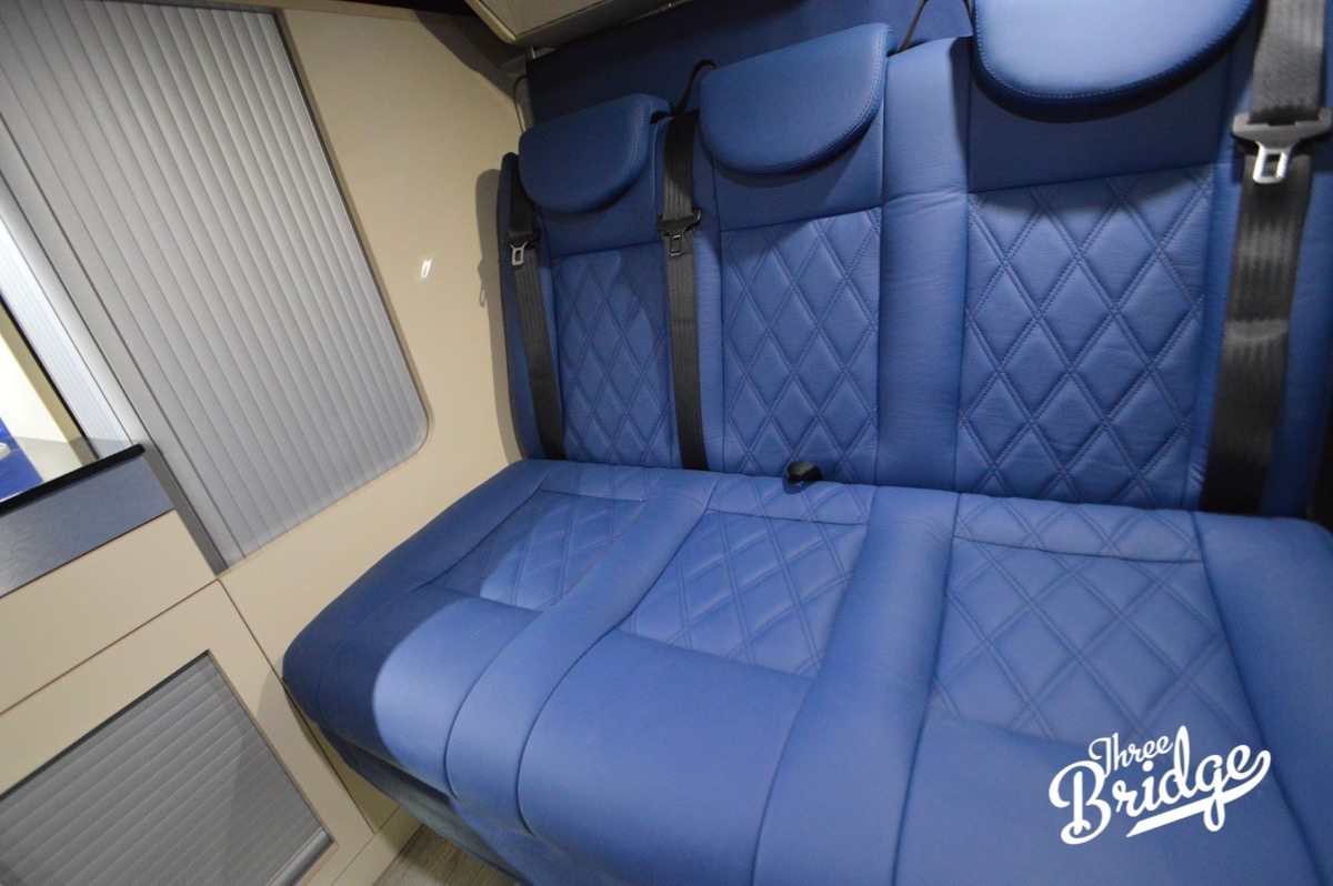 VW Transporter T5 T6 Camper Conversion - Upholstery Trimming