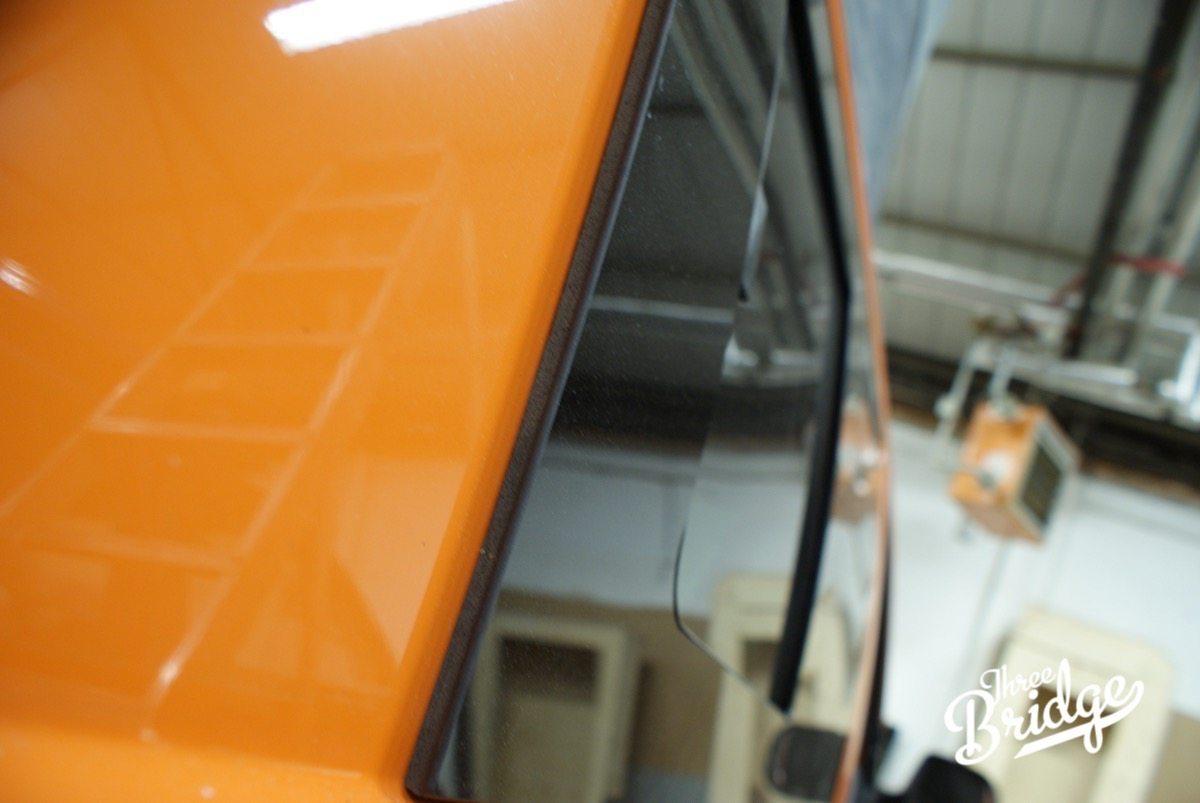 VW Transporter T5 T6 Camper Conversion - Window Fitting