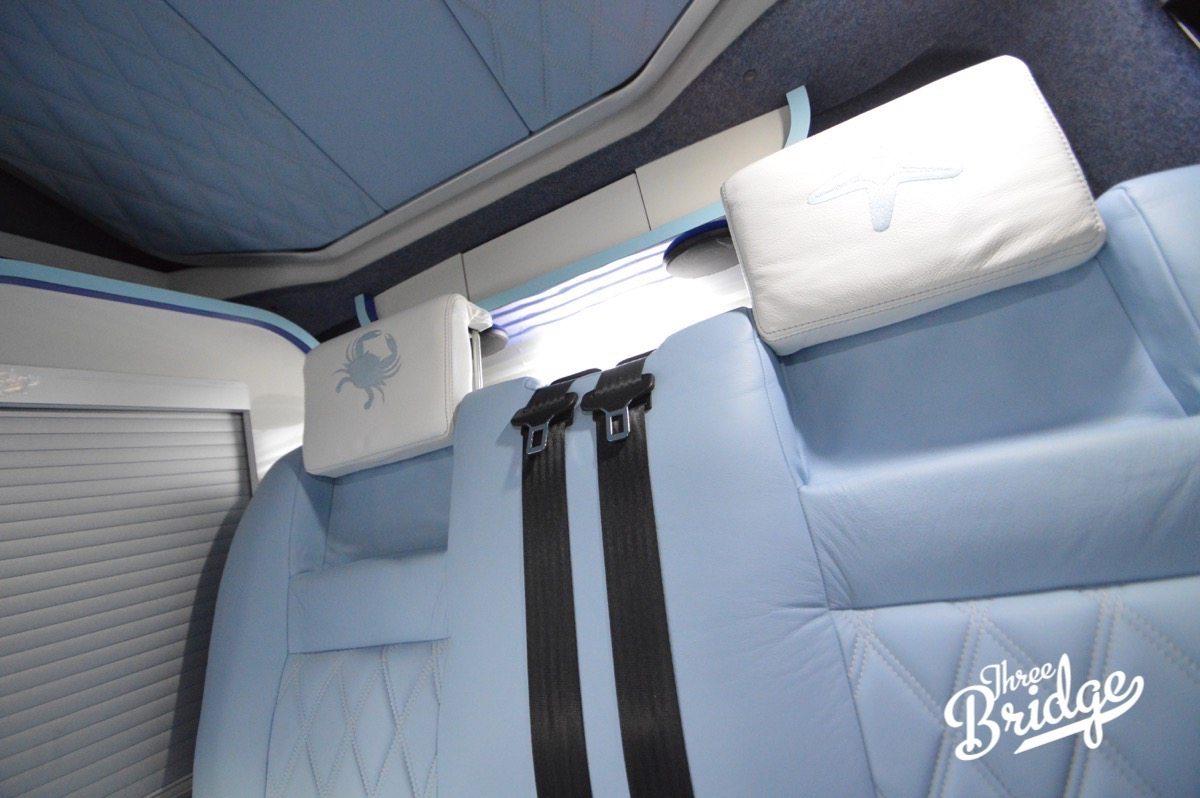 VW Transporter T5 T6 Camper Conversion - RIB Bed