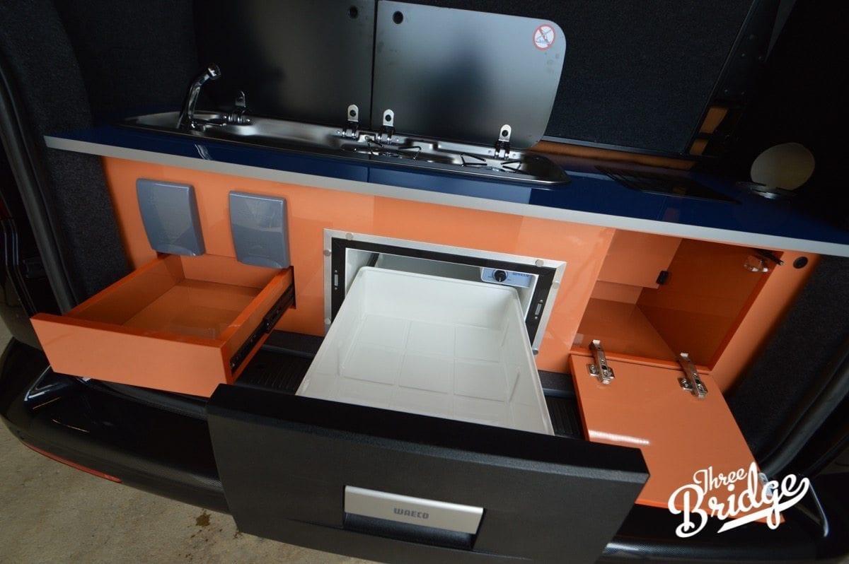 VW Transporter T5 T6 Camper Conversion - Multi-van Interior