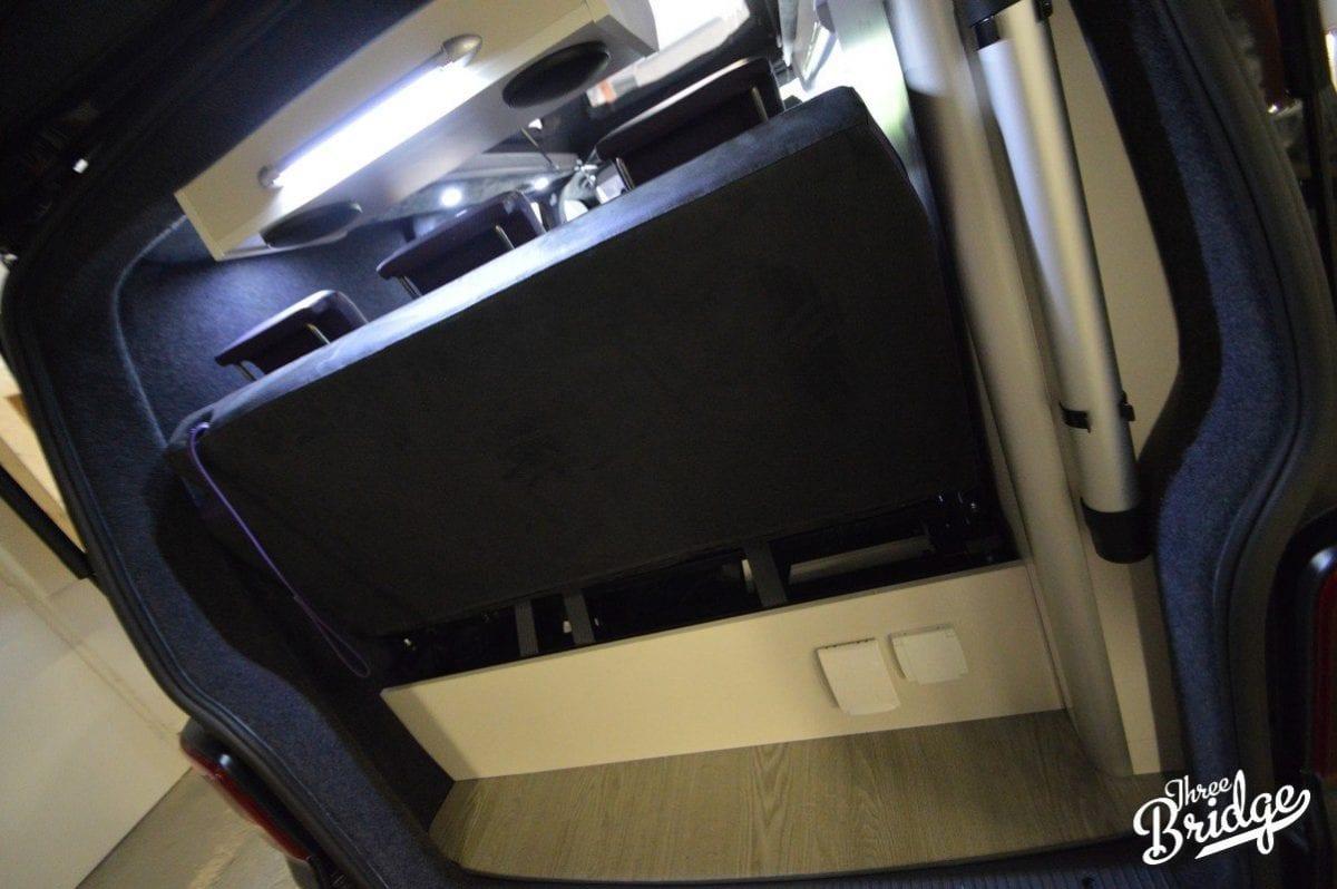 VW Transporter T5 T6 Camper Conversion - Tourer +1 Interior