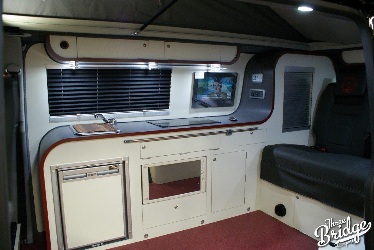 VW Transporter T5 T6 Camper Conversion - LWB Infinity Interior