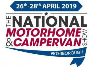 National Motorhome & Campervan Show – 26th / 28th April 2019